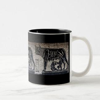 Romulus & Remus Two-Tone Coffee Mug