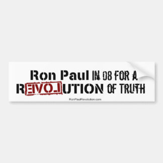Ron Paul 08 Bumper Sticker