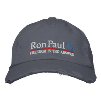 Ron Paul '12 Baseball Cap