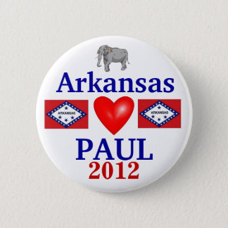 Ron Paul 2012 Arkansas 2 Inch Round Button