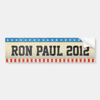 Ron Paul 2012 Bumpersticker Car Bumper Sticker