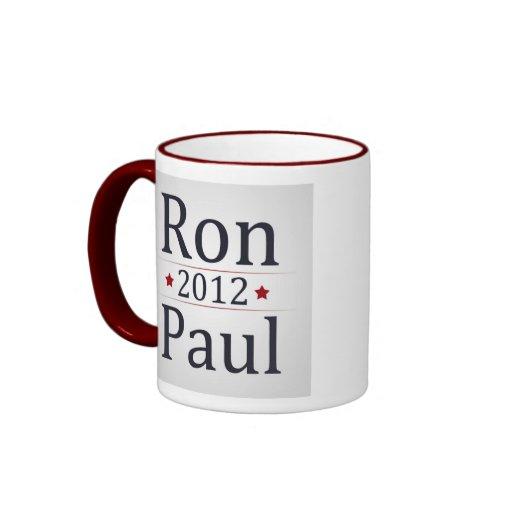 Ron Paul 2012 Campaign Coffee/Tea Cup Mugs