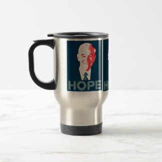 Ron Paul 2012 Campaign Coffee/Tea Cup 15 Oz Stainless Steel Travel Mug