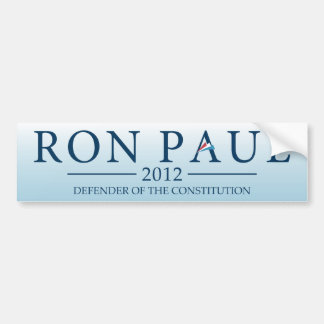 Ron Paul 2012 - Defender of the Constitution Bumper Sticker