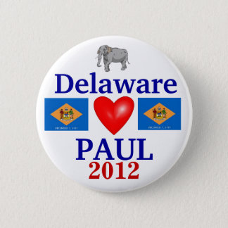Ron Paul 2012 Delaware 2 Inch Round Button