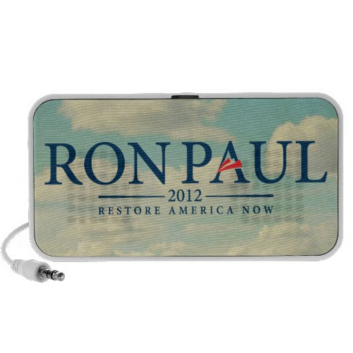 Ron Paul 2012 Doodle iPhone Speakers