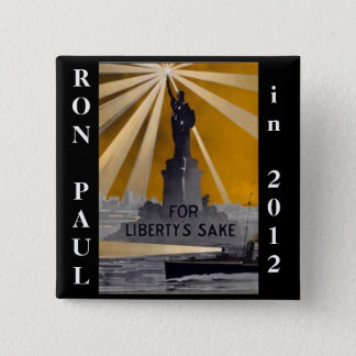 ron paul 2012 liberty 2 inch square button