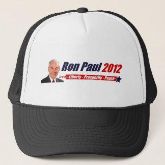 Ron Paul 2012: Liberty, Prosperity, Peace Trucker Hat