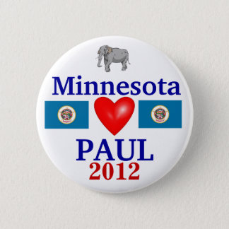 Ron Paul 2012 Minnesota 2 Inch Round Button