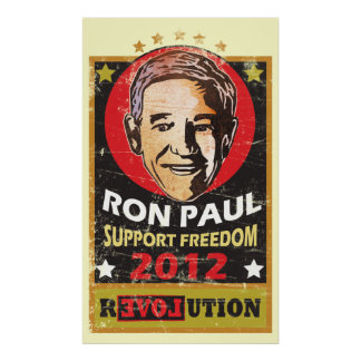 Ron Paul 2012 Poster