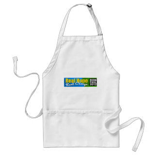 Ron Paul 2012: Real Hope, Real Change Aprons