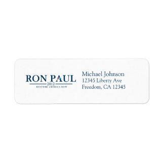 Ron Paul 2012 - Restore America Now