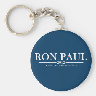 Ron Paul 2012 - Restore America Now Key-Chains Keychain
