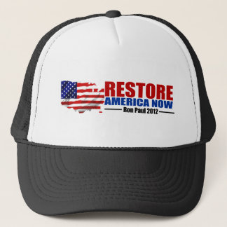 Ron Paul 2012: Restore America Now Trucker Hat