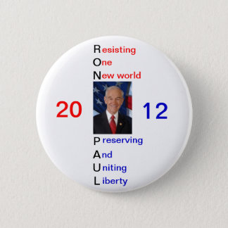 Ron Paul 2012 Supporter Pin