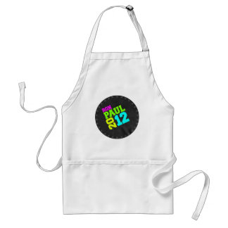 RON PAUL 2012 SWAY NEON ADULT APRON