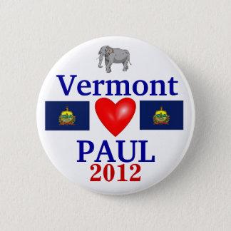 Ron Paul 2012 Vermont 2 Inch Round Button