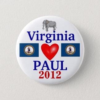 Ron Paul 2012 Virginia 2 Inch Round Button