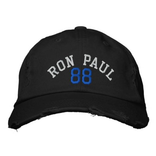 RON PAUL '88 VINTAGE Distressed Chino Twill Cap Baseball Cap