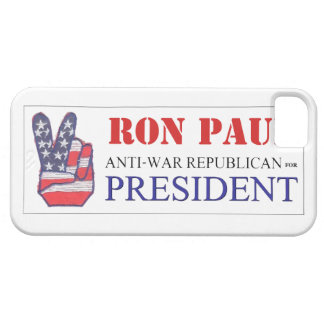 Ron Paul Anti-War Republican for President 2012 iPhone 5 Covers