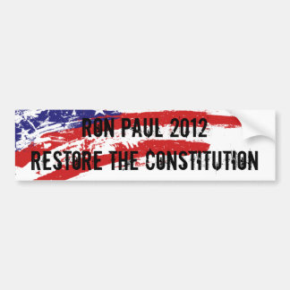 Ron Paul Bumper Sticker