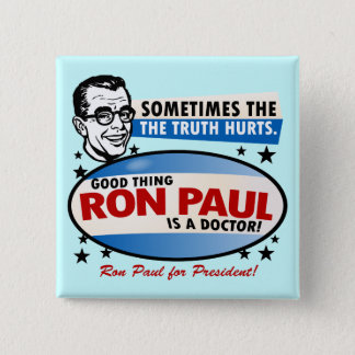 Ron Paul Campaign Button