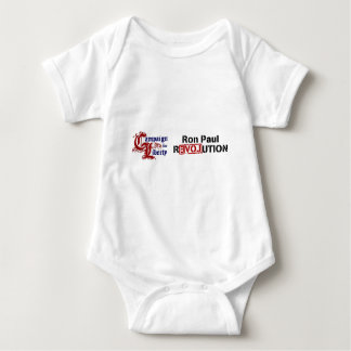 Ron Paul Campaign For Liberty Revolution Baby Bodysuit