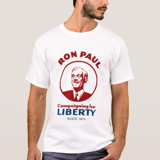 Ron Paul - Campaigning for Liberty Since 1974 T-Shirt