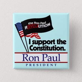 Ron Paul Constitution Button