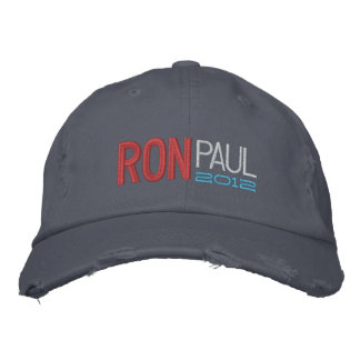 Ron Paul Embroidered Cap Embroidered Baseball Caps