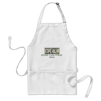 "Ron Paul ""End the Fed"" Adult Apron"