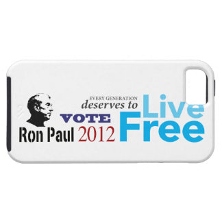 Ron Paul Every Generation Deserves To Live Free iPhone 5 Case