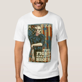Ron Paul Fight Has Just Begun T-Shirt