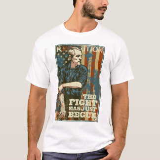 Ron Paul Fight Has Just Begun T-Shirt
