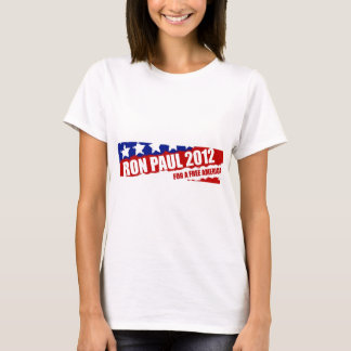 Ron Paul: For a Free America T-Shirt