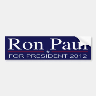 Ron Paul for President 2012 Bumper Sticker