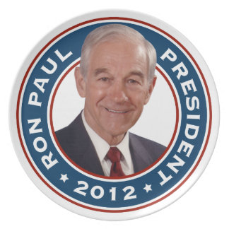 Ron Paul for President 2012 Commemorative Plate