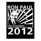Ron Paul For President 2012 Postcard