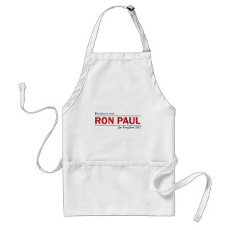 Ron Paul for President 2012 The Time is Now Standard Apron