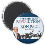 Ron Paul for President 2 Inch Round Magnet