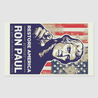 Ron Paul Jefferson Sticker
