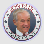 Ron Paul Lapel Stickers