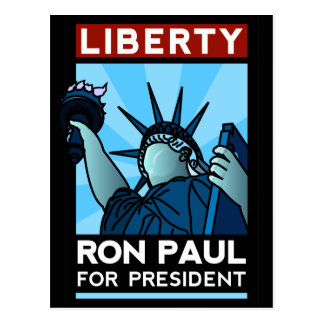 Ron Paul Liberty Postcard