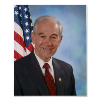 Ron Paul Official Photo Poster