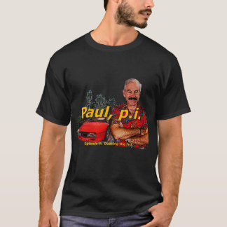 Ron Paul P.I. Episode 9: 'Busting the fed' T-Shirt
