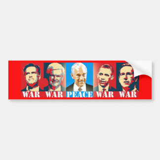 Ron Paul Peace Bumper Sticker