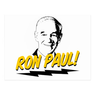 Ron Paul! Postcard