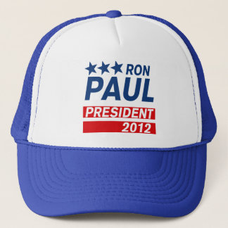 Ron Paul President 2012 Campaign Gear Trucker Hat