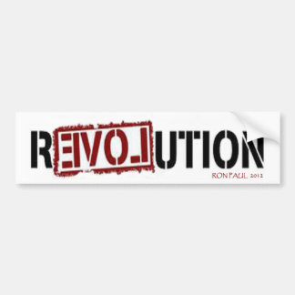 Ron Paul R3VOLUTION Bumper Sticker