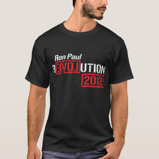 Ron Paul Revolution 2012 Shirt